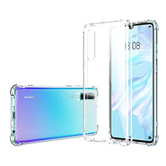 Ultra-thin Transparent TPU Soft Case K06 for Huawei P30 Clear