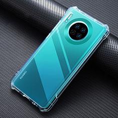 Ultra-thin Transparent TPU Soft Case K07 for Huawei Mate 30 Clear