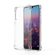 Ultra-thin Transparent TPU Soft Case K10 for Huawei P20 Pro Clear
