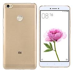 Ultra-thin Transparent TPU Soft Case Q02 for Xiaomi Mi Max Gold