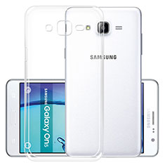 Ultra-thin Transparent TPU Soft Case R01 for Samsung Galaxy On5 Pro Clear