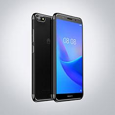 Ultra-thin Transparent TPU Soft Case S01 for Huawei Enjoy 8e Lite Black