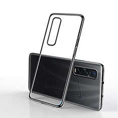 Ultra-thin Transparent TPU Soft Case S01 for Oppo Find X2 Pro Black