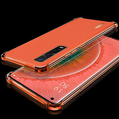 Ultra-thin Transparent TPU Soft Case S02 for Oppo Find X2 Pro Red