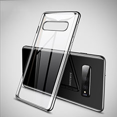 Ultra-thin Transparent TPU Soft Case S02 for Samsung Galaxy S10 Silver