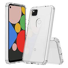 Ultra-thin Transparent TPU Soft Case T02 for Google Pixel 4a Clear