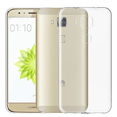 Ultra-thin Transparent TPU Soft Case T02 for Huawei G8 Clear