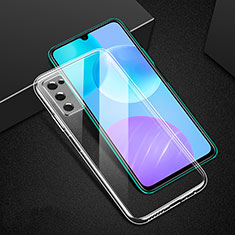 Ultra-thin Transparent TPU Soft Case T02 for Huawei Honor 30 Lite 5G Clear