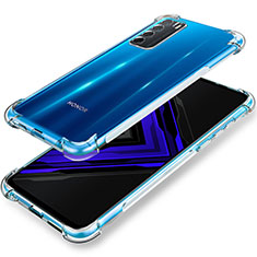 Ultra-thin Transparent TPU Soft Case T02 for Huawei Honor Play4 5G Clear