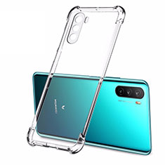 Ultra-thin Transparent TPU Soft Case T02 for Huawei Mate 40 Lite 5G Clear