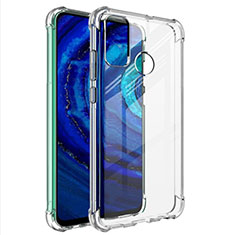 Ultra-thin Transparent TPU Soft Case T02 for Huawei Y8s Clear