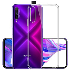 Ultra-thin Transparent TPU Soft Case T02 for Huawei Y9s Clear