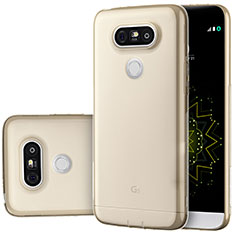 Ultra-thin Transparent TPU Soft Case T02 for LG G5 Gold