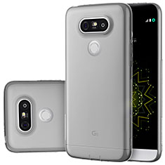 Ultra-thin Transparent TPU Soft Case T02 for LG G5 Gray
