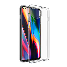 Ultra-thin Transparent TPU Soft Case T02 for Motorola Moto One 5G Clear
