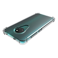 Ultra-thin Transparent TPU Soft Case T02 for Nokia 6.2 Clear