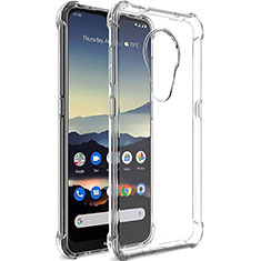 Ultra-thin Transparent TPU Soft Case T02 for Nokia 7.2 Clear