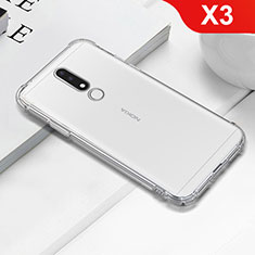 Ultra-thin Transparent TPU Soft Case T02 for Nokia X3 Clear