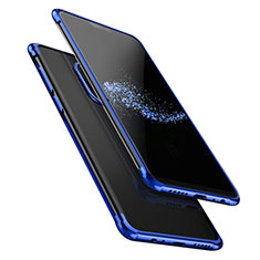 Ultra-thin Transparent TPU Soft Case T02 for OnePlus 6 Blue