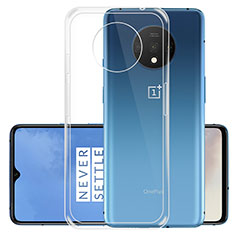 Ultra-thin Transparent TPU Soft Case T02 for OnePlus 7T Clear