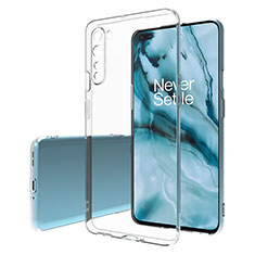 Ultra-thin Transparent TPU Soft Case T02 for OnePlus Nord Clear