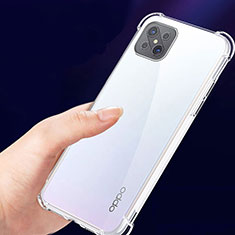 Ultra-thin Transparent TPU Soft Case T02 for Oppo Reno4 Z 5G Clear