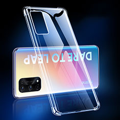 Ultra-thin Transparent TPU Soft Case T02 for Realme Q2 Pro 5G Clear