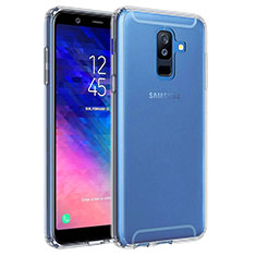 Ultra-thin Transparent TPU Soft Case T02 for Samsung Galaxy A6 Plus Clear