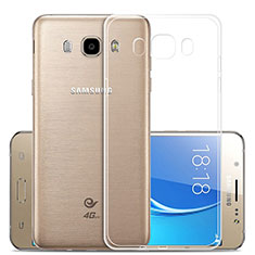Ultra-thin Transparent TPU Soft Case T02 for Samsung Galaxy J5 Duos (2016) Clear