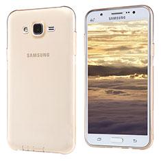 Ultra-thin Transparent TPU Soft Case T02 for Samsung Galaxy J5 SM-J500F Gold
