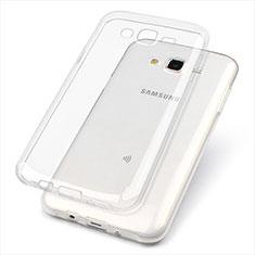 Ultra-thin Transparent TPU Soft Case T02 for Samsung Galaxy J7 SM-J700F J700H Clear