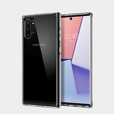 Ultra-thin Transparent TPU Soft Case T02 for Samsung Galaxy Note 10 Plus 5G Clear