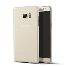 Ultra-thin Transparent TPU Soft Case T02 for Samsung Galaxy Note 7 Clear
