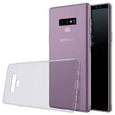 Ultra-thin Transparent TPU Soft Case T02 for Samsung Galaxy Note 9 Gray