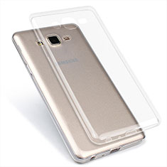 Ultra-thin Transparent TPU Soft Case T02 for Samsung Galaxy On7 G600FY Clear
