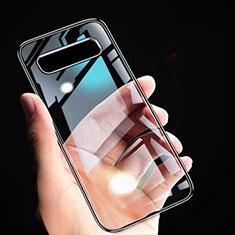 Ultra-thin Transparent TPU Soft Case T02 for Samsung Galaxy S10 Black