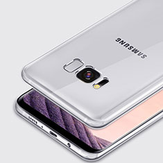 Ultra-thin Transparent TPU Soft Case T02 for Samsung Galaxy S8 Clear