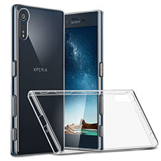 Ultra-thin Transparent TPU Soft Case T02 for Sony Xperia XZ Clear