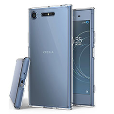 Ultra-thin Transparent TPU Soft Case T02 for Sony Xperia XZ1 Clear