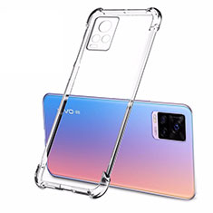 Ultra-thin Transparent TPU Soft Case T02 for Vivo V20 Pro 5G Clear