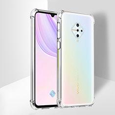 Ultra-thin Transparent TPU Soft Case T02 for Vivo X50 Lite Clear