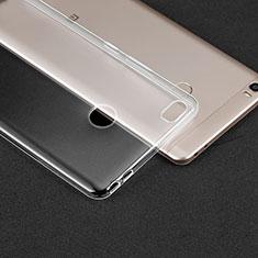 Ultra-thin Transparent TPU Soft Case T02 for Xiaomi Mi Max Clear
