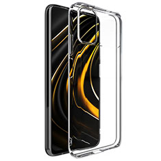 Ultra-thin Transparent TPU Soft Case T02 for Xiaomi Poco M3 Clear