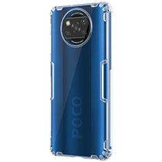 Ultra-thin Transparent TPU Soft Case T02 for Xiaomi Poco X3 NFC Clear