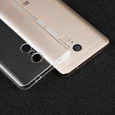 Ultra-thin Transparent TPU Soft Case T02 for Xiaomi Redmi Note 4 Clear