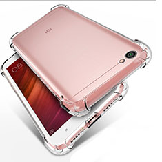 Ultra-thin Transparent TPU Soft Case T02 for Xiaomi Redmi Note 5A Standard Edition Clear