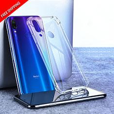 Ultra-thin Transparent TPU Soft Case T02 for Xiaomi Redmi Note 7 Clear