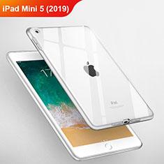 Ultra-thin Transparent TPU Soft Case T03 for Apple iPad Mini 5 (2019) Clear