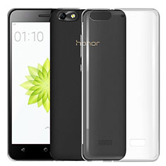 Ultra-thin Transparent TPU Soft Case T03 for Huawei G Play Mini Clear