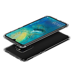 Ultra-thin Transparent TPU Soft Case T03 for Huawei Mate 20 Clear